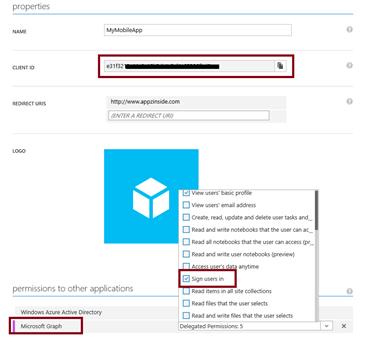Implement ADAL for cross-platform Xamarin applications | AppzInside