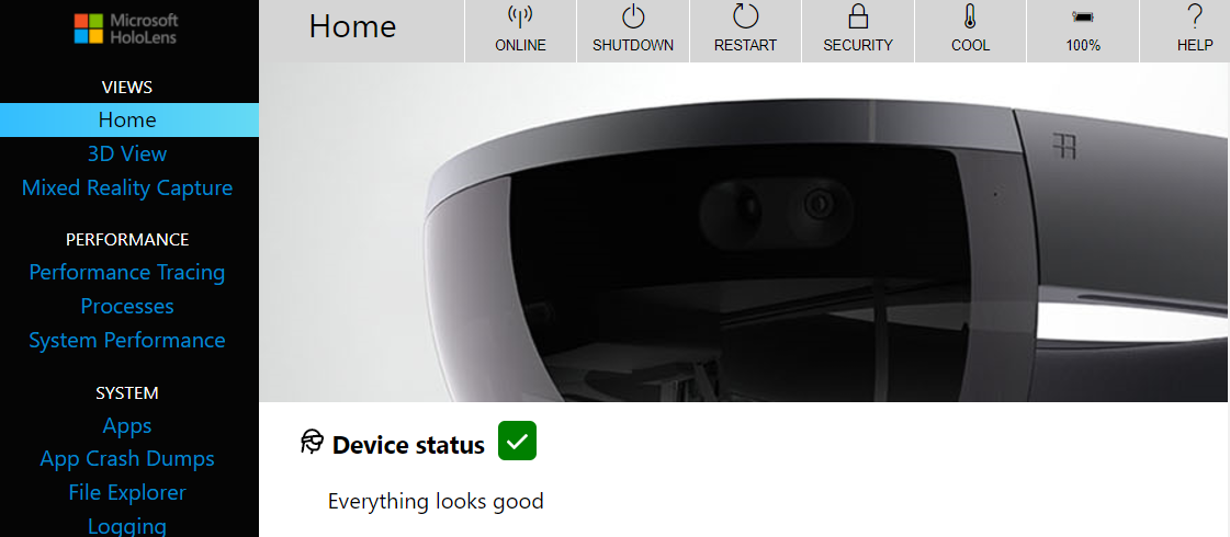 How to use the Device Portal API of HoloLens – Take a picture