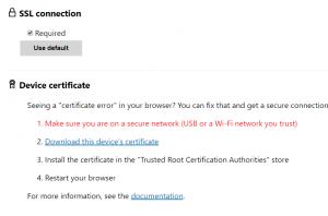 HoloLens-security-certificate